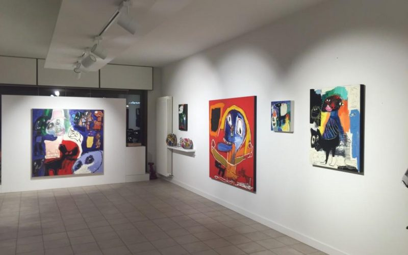 Galleria Nino sindoni personale Gianfranco AsveriIMG_3713-1024x768